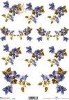 papier-ryżowy-decoupage-kwiaty-liście-listki-ogród-łąka-R0139