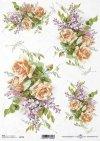 Flores de papel de arroz*Рисовые бумажные цветы*Blumen Reispapier