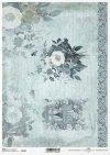 *Papier Decoupage Blumen, Dekoration, Fenster in Blumen*бумага декупаж цветы, украшение, окно в цветы