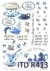 napisy, herbata, herbatka, filiżanka, filiżanki, imbryk, tea time, herbaciany, herbaciane, R413