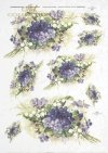 spring, flower, flowers, violets, lily of the valley, R326