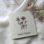 Einladungskarten / Hochzeitskarte 01732_56_weinrote