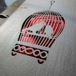 Einladungskarten / Hochzeitskarte 1733_Vögel