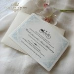 Einladungskarten / Hochzeitskarte 01738_Fahrrad
