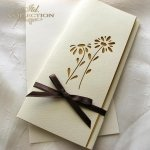 Einladungskarten / Hochzeitskarte 1729_60_gelb