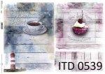 Decoupage paper ITD D0539