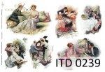 Decoupage paper ITD D0239