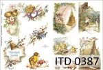 Decoupage paper ITD D0387