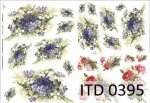 Decoupage paper ITD D0395