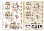 Decoupage paper ITD D0418