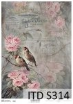 Decoupage paper Soft ITD S0314