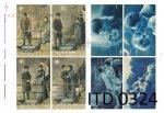 Decoupage paper ITD D0324M