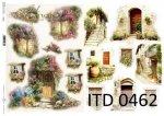 Decoupage paper ITD D0462