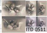 Decoupage paper ITD D0511