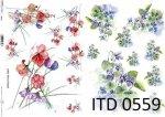 Decoupage paper ITD D0559