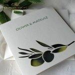 Invitations / Wedding Invitation 01731_47_olives