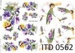 Decoupage paper ITD D0562