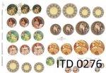 Decoupage paper ITD D0276