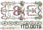 Decoupage paper ITD D0019M