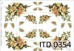 Decoupage paper ITD D0354