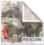 Papier scrapbooking SCL546