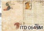 Papier decoupage ITD D0645M