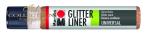 Liner Glitter 25 ml - Red Gold 586