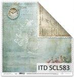 Papier scrapbooking SCL583
