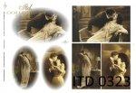 Papier decoupage ITD D0323