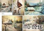 Papier decoupage ITD D0216