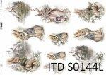 Papier decoupage SOFT ITD S0144L