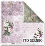Papier scrapbooking SCL590