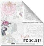 Papier scrapbooking SCL517