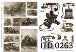 Papier decoupage ITD D0263
