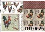 Papier decoupage ITD D0626