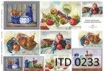 Papier decoupage ITD D0233