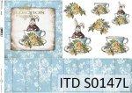Papier decoupage SOFT ITD S0147L
