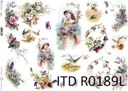 Papier ryżowy ITD R0189L