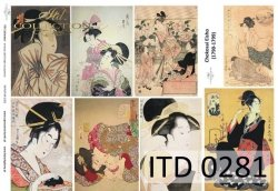 Papier decoupage ITD D0281M