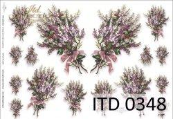Papier decoupage ITD D0348