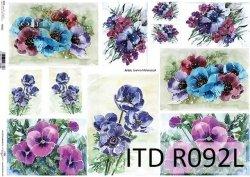 Papier ryżowy ITD R0092L
