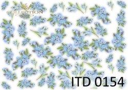 Papier decoupage ITD D0154