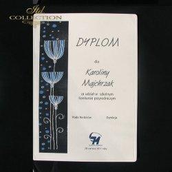 Dyplom Konkursowy przyrodniczy listki 9