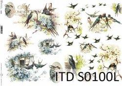 Papier decoupage SOFT ITD S0100L