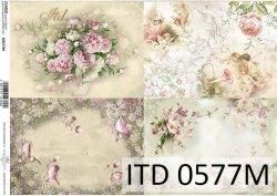 Papier decoupage ITD D0577M