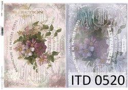 Papier decoupage ITD D0520
