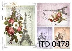 Papier decoupage ITD D0478