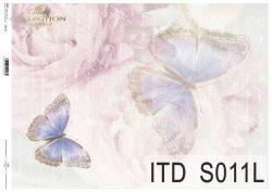 Papier decoupage SOFT ITD S0011L