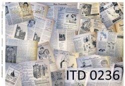 Papier decoupage ITD D0236M