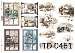 Papier decoupage ITD D0461